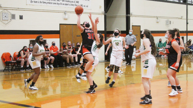 Lady Indians come back to beat Engadine