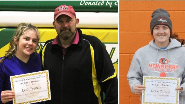 Rahilly & French earn All UP honors