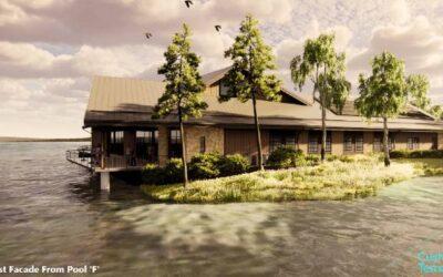 Demolition of Seney National Wildlife Refuge Visitor Center is underway